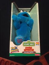 Sesame Street Pal of the Month Collectible COOKIE MONSTER January 2000 Plush