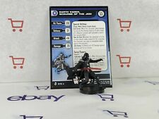 Star Wars Miniatures Darth Vader Scourge of the Jedi & Card