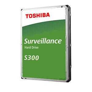 HARD DRIVE CCTV SURVEILLANCE TOSHIBA S300 V300 1TB 2TB 3TB 4TB 6TB 8TB DVR NVR