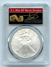 2010 $1 American Silver Eagle Dollar PCGS MS70 Thomas Cleveland Arrows