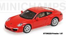 Minichamps 877066220 -porsche 911 (991) Carrera S – 2011 – Red L. E. 500 Pzs.