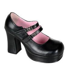 Block Heel Synthetic Demonia for Women