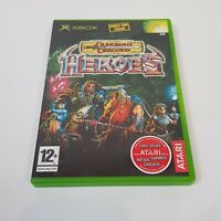 DUNGEONS & DRAGONS Heroes (Microsoft XBOX Original) PAL Video Game - Complete