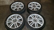 "2008 AUDI A8 D3 19"" DOUBLE SPOKE ALLOY WHEELS R216 19x8.5JJ ET45"
