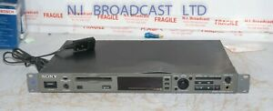Sony mds-e12broadcast spec mini disc player recorder with balanced and unbalanc