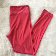Lularoe Women's TC Tall & Curvy Legging Solid Pink