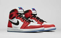 "Nike Air Jordan 1 Retro High OG ""Origin Story"" Spider Man 555088-602 NEW"