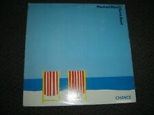 Manfred Mann's Earth Band - Chance 1980 USA Orig. Lyrics VG+/VG+