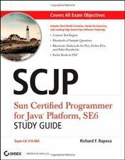 SCJP: Sun Certified Programmer for Java Platf... by Raposa, Richard F. Paperback