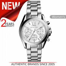 Michael Kors MK6174 Mini Bradshaw Chronograph Silber Damen Uhr