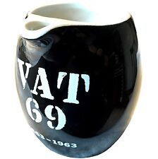 Vintage Vat 69 Deluxe Scotch Whiskey Pub Jug Pitcher Ceramic