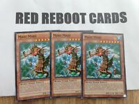 3x Mare Mare Yugioh Mint Common tenyi