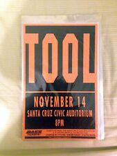 "Tool ""Winter '94 Western U.S. Tour"" Poster / Flyer (1994 11"" x 17"") **Rare**"
