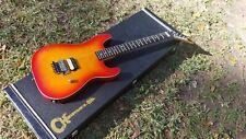 1988 Charvel Guitar MIJ Japan Model  1 2  Floyd  Dimas Flame  Burst 80s Duncan