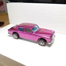 Rolls Royce Silver Shadow Original Hot Wheels Redline Restoration Pink