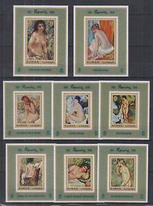 U469. Ajman - MNH - Art - Paintings - Renoir - Deluxe