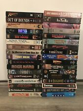 34 VHS Tape Lot Movies