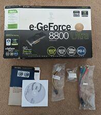 EVGA nVidia e-GeForce 8800 Ultra Box Only ** Read Description Please **