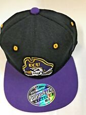 timeless design 060e1 9bca0 NCAA EAST CAROLINA PIRATES AUTHENTIC ZEPHYR STRETCH FIT MEN S HAT SIZE ...