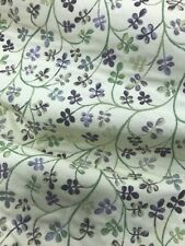 Premium Upholstery And Curtain Weight Fabric Flower Print Double Sided