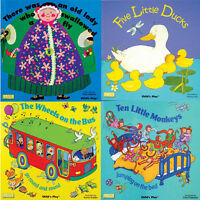 Classic Books with Holes Board Book 4 Children's Books Collection Set Pack NEW