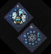 Christmas New Year 2016 set of 2 mnh stamps Belarus