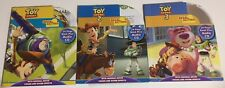 Lot of Disney Pixar Toy Story 1,2 & 3. Read-Along Library. Book Plus Audio CD