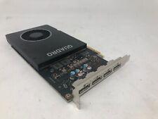 Nvidia Quadro P2000 5GB GDDR5 Graphic Card  4 x DP Dell P/N:87CG5 Tested Grade A