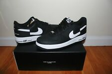 Supreme X Nike Air Force 1 Low X Comme des Garcons Black Size 9 Brand New