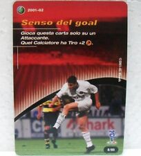 FOOTBALL CHAMPIONS Italiano 2001-02 - SENSO DEL GOAL - carta azione 8/80 VIERI