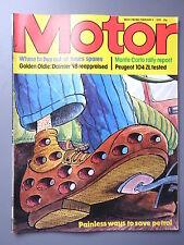 R&L Mag: Motor 1979 Feb 3 Mazda 323 Rally/Daimler 2 1/4 V8/Peugeot 104 Test