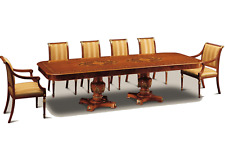 BRAND NEW Exotic Classic Dining Table for 10 Person, AUTHENTIC ITALIAN MADE