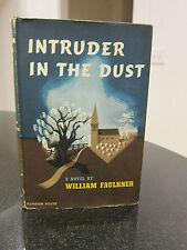 Intruder in the Dust - William Faulkner - Stated First Ed, Original DJ: $3.00