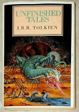 UNFINISHED TALES OF MIDDLE EARTH ~ Tolkien ~ GARLAND COVER! ~ BRITISH ED ~ PB