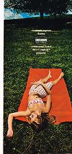 PUBLICITE  1967   PRISUNIC   soutien gorge & slip FLORINE CIDENYL