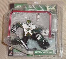 EDDIE BELFOUR DALLAS STARS LOGO ON BOTTLE McFARLANE NHL SERIES 1