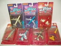 7 MATCHBOX SKY BUSTERS AIRPLANES MILITARY AIRCRAFT DIECAST F16- MIRAGE- P0HANTOM