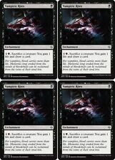 4x VAMPIRIC RITES Battle for Zendikar MTG Enchantment Unc