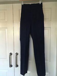 "BNWT Alexandra TR642 Work Nurses Carer  Trousers in Navy Size 8 x 31.5""Leg"