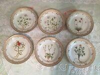 Royal Copenhagen Flora Danica 6 Desert /salad plates