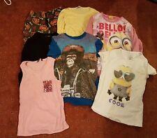 Girls Clothing Bundle Age 9-10 Minions Desigual Man Utd