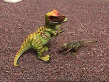Jurassic Park Dinosaurs 2 Electronic Tyrannosaurus rex w Micro T.rex Mini!