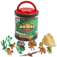 24 pcs assorted Educational Realistic Dinosaur Model Figures Play Set Toy Kids
