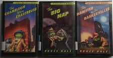 BRUCE HALE lot of 3 CHET GECKO MYSTERY series (ages 8 to 12)