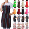 Cooking Chef Plain Apron Double Pocket Butcher Catering Baking Craft BBQ Kitchen