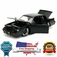 diecast model car 1987 Buick Grand National Matte Black 1/24 scale