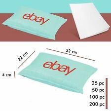More details for ebay branded packaging padded bubble plastic mailers 22cm x 32cm 4cm lip