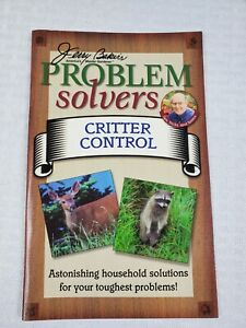 Jerry Bakers Problem Solvers CRITTER CONTROL  Paperback Booklet- Gardening