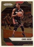 2016-17 Prizm Chris Bosh Premium Base #86 Miami Heat Raptors Georgia Tech HOF