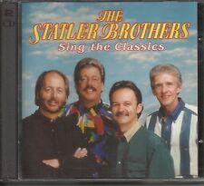STATLER BROTHERS Sing Classics HEARTLAND 2CD Anthology LIKE NEW-FREE SHIP USA